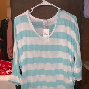 Tops - New with tags. Fitted style shirt